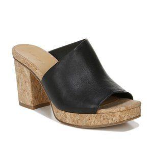 NEW Vince Wyatt Platform Leather Heel Sandals 10